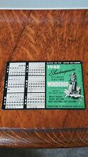 1948 MINNESOTA TIMES TABLE CARD CLEAN