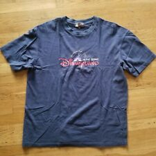 Disneyland Hong Kong Tee Shirt Size 2XL navy blue preowned euc vintage vtg XXL $