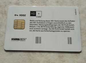 HD+ Karte Version HD02- HD Plus Smartcard