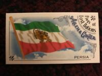 Persia 2018 Topps Allen & Ginter Flags of Lost Nations Mini Insert #18