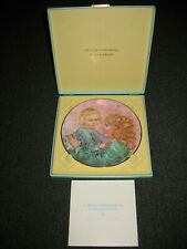 Edna Hibel Kathleen & Child Plate Royal Doulton China (1981) 6th In a Series