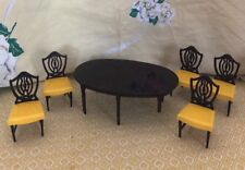 Vintage Ideal Young Decorator Dinning Room Table & 5 Chairs 1950's