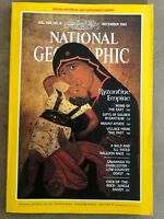 National Geographic magazine December 1983 With Map of Hawaii, Last Supper W Map