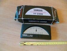(S1)  ACCORDEUR CHROMATIQUE AUTO/MANUEL YAMAHA YT - 2200