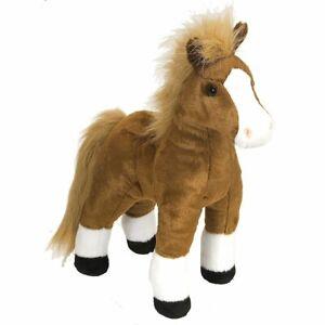 "Wild Republic Cuddlekins Brown Horse 12"" Soft Plush Toy"