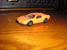 Vintage 1983 Ertl Diecast Toys Bmw Turbo Sports Car Orange