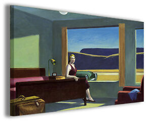 Quadro moderno Hopper Edward vol XIII stampa su tela canvas pittori famosi