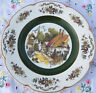 """'Ascot Service Plate' by Wood and Sons, England, Alpine White, Village (10.5"""")"""