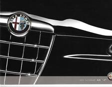 ALFA ROMEO 147  ACCESSORIES SALES BROCHURE AUGUST 2008 FOR THE 2009 MODEL YEAR