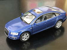 "New 5"" Kinsmart Audi A6 Diecast Model Toy Car 1:38 Scale Pull Action Blue"