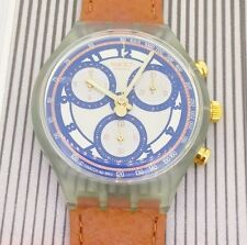 swatch watch chrono Honey Tree SCN107 1993 new in original box with papers