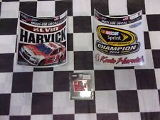 3-Kevin Harvick #4 NASCAR Items-Decals and a Collector Pin