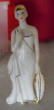 "Vintage KPM Porcelain Flapper Woman Figurine  9"" Tall"