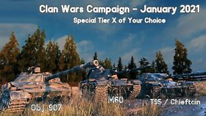 WOT Combattimento 45t WORLD OF TANKS Campaign EVENT January 2021 | 907 T95 Chief