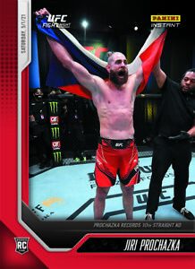 "2021 PANINI Instant UFC - JIRI PROCHAZKA - ""10th Straight KO"" - (PRE-SELL)"