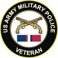 "Army Military Police Kosovo Veteran 5.5"" Decal / Sticker 'Officially Licensed'"