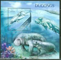 SOLOMON ISLANDS  2013 DUGONGS  SOUVENIR SHEET MINT NH