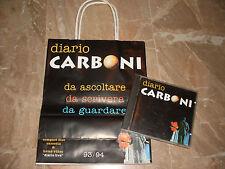"LUCA CARBONI - CD + SACCHETTO PROMO "" DIARIO CARBONI """