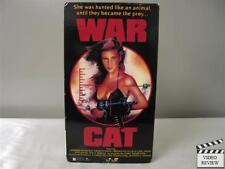 War Cat VHS Jannina Poynter, David O'Hara, Macka Foley, Carl Irwin; Ted Mikels