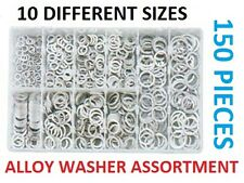 150 PIECE ALLOY COPPER WASHER ASSORTMENT SUMP PLUG WASHER KIT MECHANIC GRAB KIT