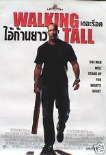 WALKING TALL MOVIE ASIAN POSTER-WAYNE JOHNSON(THE ROCK)