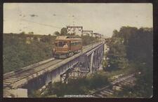 Postcard BUTLER,Pennsylvania/PA   STREETCAR/TROLLEY #109 ON TRESSLE BRIDGE 1907?