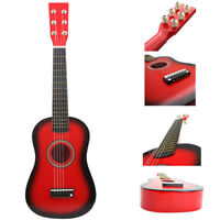 """23"""" Childrens Kids Wooden Acoustic Guitar Musical Instrument Child Toy"""