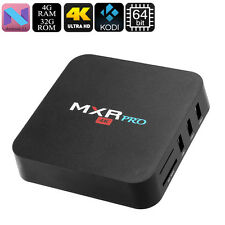 Android TV Box - 4K Support, Quad-Core CPU, 4GB RAM, Android 7.1, Google Play