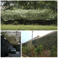 New 4m x 1.5m Stealth Camo Net Woodland Pigeon Hide Shooting Decoying Camouflage