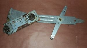 1967 67 CAMARO FIREBIRD STANDARD LH DRIVER SIDE FRONT MANUAL WINDOW REGULATOR