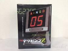 Electronic Bingo Machine The Digibingo Z Black Hanayama and Card Set JAPAN