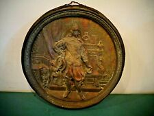 VINTAGE CAST BRONZE BRASS NATIONAL BISCUIT COMPANY WALL PLAQUE
