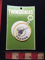 Vtg TWINSIGNIAS Brand SAN DIEGO PADRES California Patch Emblem & Decal 73W4