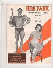 THE REG PARK JOURNAL muscle bodybuilding magazine/BILLY HILL 4-58
