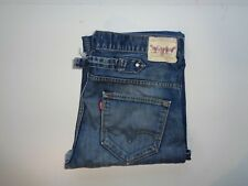 "Levi's Strauss 503 dark blue jeans Waist 36"" x Leg 32"" loose distressed skater"