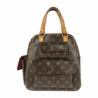 Louis Vuitton M51161 Monogram Brown Excentri Cite Hand Bag Ex++