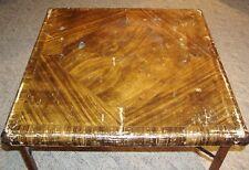Antique Shwayder Brothers Samson Wood Leg Card Table