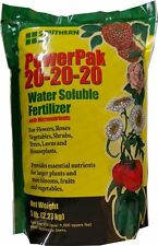 20-20-20 Powerpak Water Soluble Fertilizer - 5 Lbs.