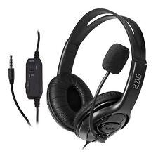 Gaming Headset PS4 Playstation 4 Computer Stereo Sound kabelgebunden 3,5mm