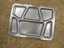 Vtg Stainless Steel Metal US Navy CARROLLTON Mess Hall Prison Food Tray 1940's