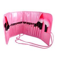 32Pcs Makeup Brushes Kit Eyeshadow Eyeliner Lip Eyebrow Face Cosmetic Brush Tool