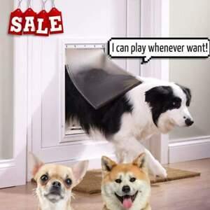 PetSafe Aluminium Staywell For Large Pet Dog Puppy Cat Lockable 2 Way Door Flap