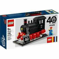 LEGO 40370 40TH ANNIVERSARY TRAIN / STEAM ENGINE SET VIP EXCLUSIVE BRAND NEW!