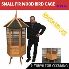 Kasa Big Bird Wood Wire Aviary