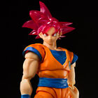 SDCC 2021 Bandai S.H. Figuarts Dragon Ball Z Super Saiyan God Goku Exclusive
