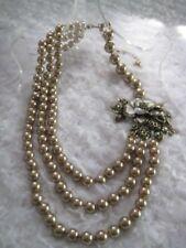 "HEIDI DAUS ""Marvelous Magnolia"" Crystal/Enamel Floral Necklace ($259.95)"