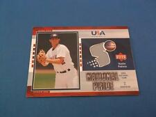 Dustin Pedroia Upper Deck 2003 USA National Team National Pride Jersey USA36