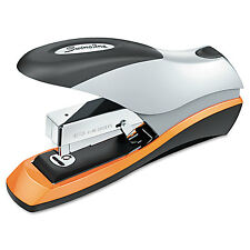 Swingline Optima Desktop Staplers Half Strip 70-Sheet Capacity Silver/Black