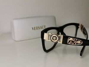 Versace Designers Herren Brille. 426-2 57°17-137 Mit Transparente glass.