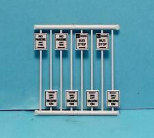 N Scale-Tichy Train Group-Scenery Accessories-8 Pcs. No Parking Signs-7N